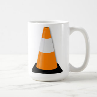 Traffic Cone Coffee Mug
