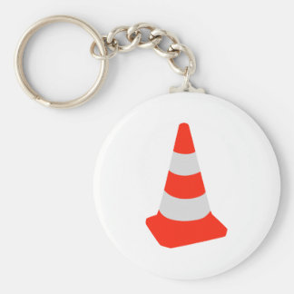 Traffic cone key ring