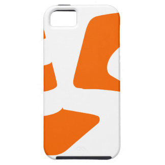 Traffic cone safety pylon  two Whitch hat marker 2 iPhone 5 Cover