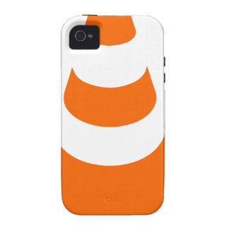 Traffic cone safety pylon Whitch hat marker Vibe iPhone 4 Covers