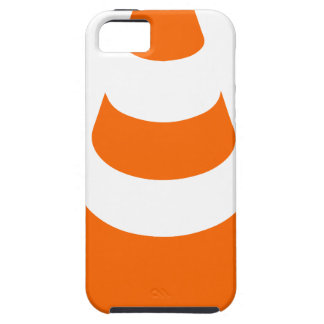 Traffic cone safety pylon Whitch hat marker iPhone 5 Cover