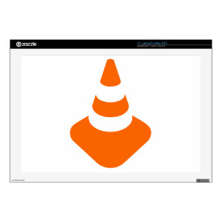 Traffic cone safety pylon Whitch hat marker Laptop Decal