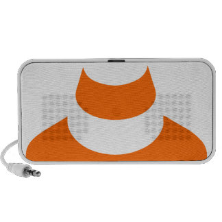 Traffic cone safety pylon Whitch hat marker Travelling Speakers