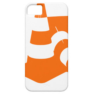 Traffic cone two safety pylons iPhone 5 case