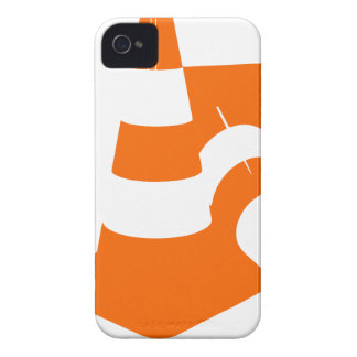 Traffic cone two safety pylons Case-Mate iPhone 4 cases