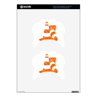 Traffic cone two safety pylons xbox 360 controller skins
