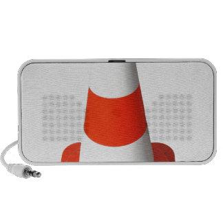 Traffic Cone Used Street Road Works Laptop Speakers