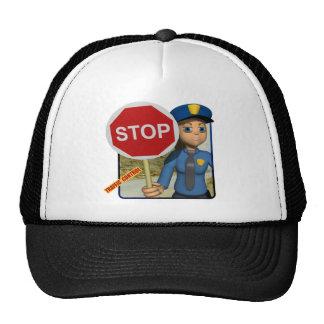 Traffic Control Officer Cap