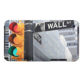 Traffic Light and Wall Street Sign iPod Touch Cover