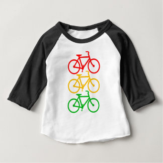 Traffic Light Bikes Baby T-Shirt