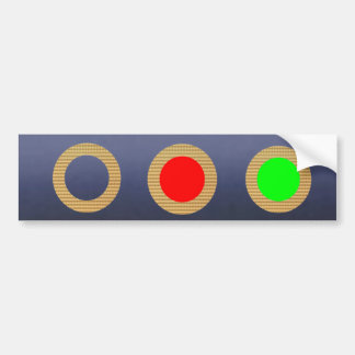 Traffic Light Collection - Kids Learning Tools Bumper Stickers