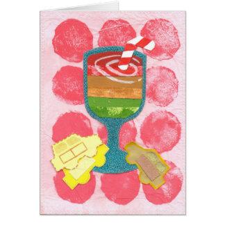 Traffic Light Milkshake Greeting Card