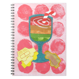 Traffic Light Milkshake Notebook