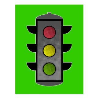 Traffic Light Postcards