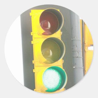 Traffic Light Sticker