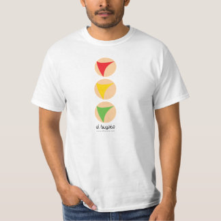 Traffic light without outstanding color - white T-Shirt