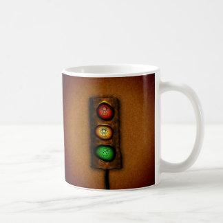 Traffic Lights Basic White Mug