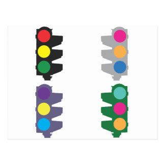 Traffic Lights Postcard