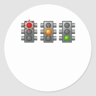 Traffic Lights Sticker