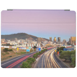 Traffic On Motorway To Cape Town, Western Cape iPad Cover