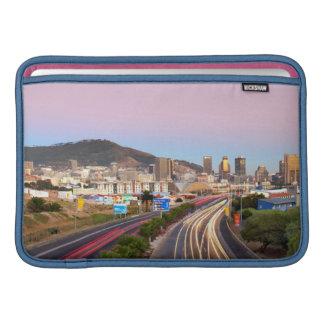 Traffic On Motorway To Cape Town, Western Cape MacBook Sleeve