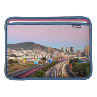 Traffic On Motorway To Cape Town, Western Cape MacBook Sleeves