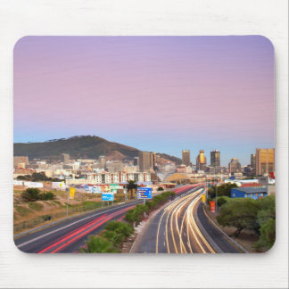 Traffic On Motorway To Cape Town, Western Cape Mouse Mat
