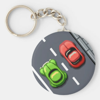 Traffic Rush Keychain