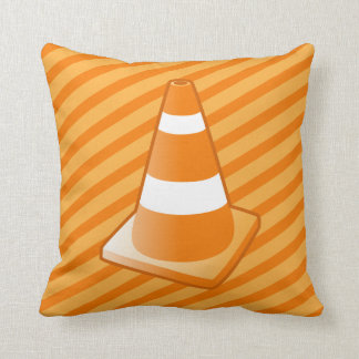 Traffic Safety Cone Pillow Throw Cushions