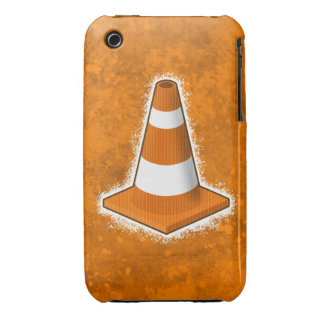 Traffic Safety Cone Splatter iPhone 3 Cover