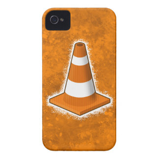 Traffic Safety Cone Splatter iPhone 4 Cases