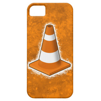 Traffic Safety Cone Splatter iPhone 5 Case