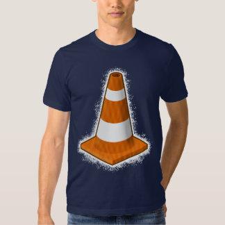 Traffic Safety Cone Splatter T-Shirt