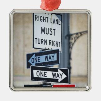 Traffic Signs Christmas Ornament