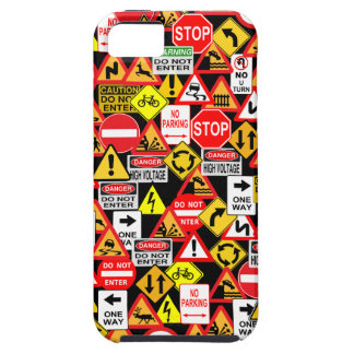 Traffic Signs iPhone 5 Case-Mate