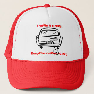 Traffic STINKS! - Honk if you hate Traffic hat