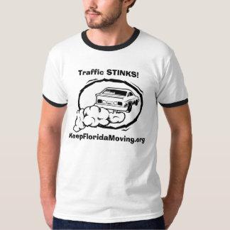 Traffic STINKS! - KeepFloridaMoving.org T-Shirt