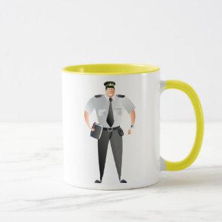Traffic Warden Mug