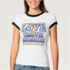 Traffic Wardens Love Face T-Shirt