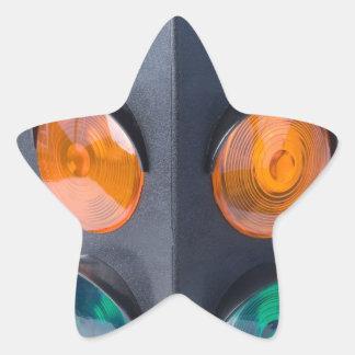 TrafficLight050915 Star Sticker