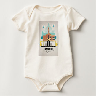 TRAFFORD, MANCHESTER BABY BODYSUIT