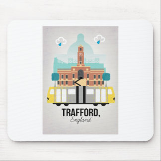 TRAFFORD, MANCHESTER MOUSE MAT