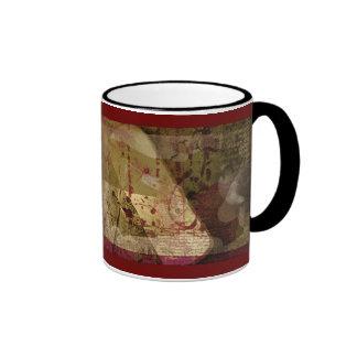 tragedy at the beach ringer mug