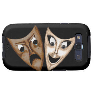 Tragedy & Comedy Galaxy S3 Covers