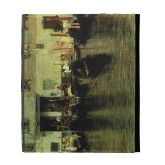 Traghetto della Maddalena, 1887 iPad Case