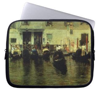 Traghetto della Maddalena, 1887 Laptop Computer Sleeves