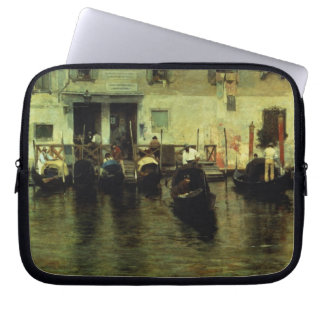 Traghetto della Maddalena, 1887 Laptop Sleeves