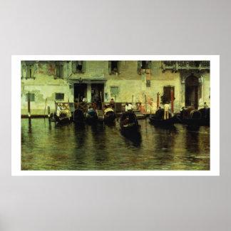 Traghetto della Maddalena, 1887 Poster