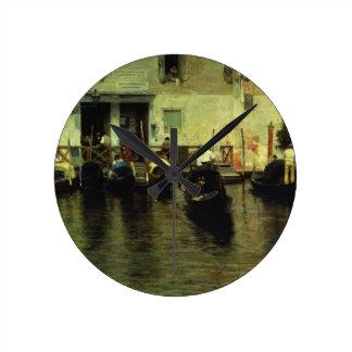 Traghetto della Maddalena, 1887 Round Clock