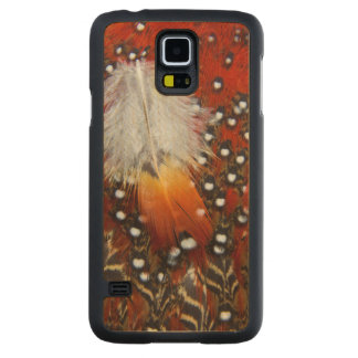 Tragopan Feathers Still Life Maple Galaxy S5 Slim Case